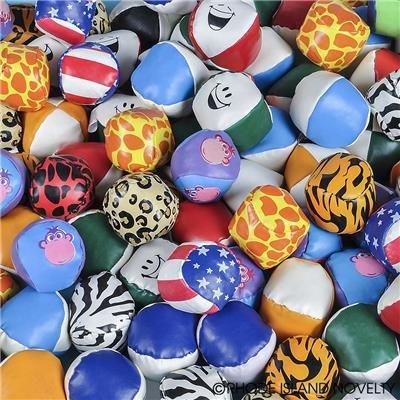 5STARS N&R 50 Vinyl Kickballs Footbags Party Favors Fun Sports Balls by 5STARS N&R