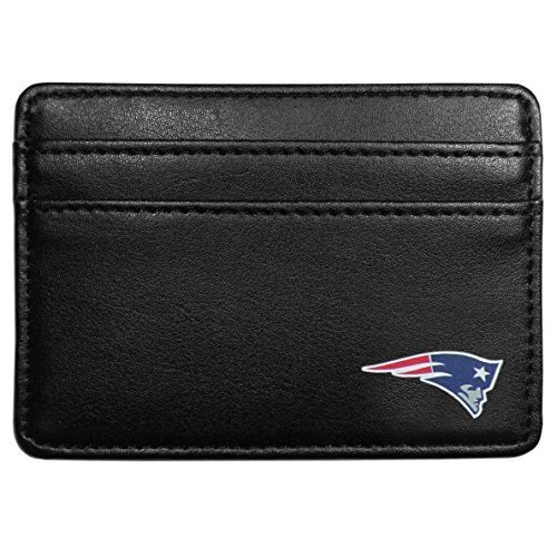 Siskiyou NFL New England Patriots Weekend Wallet, Black