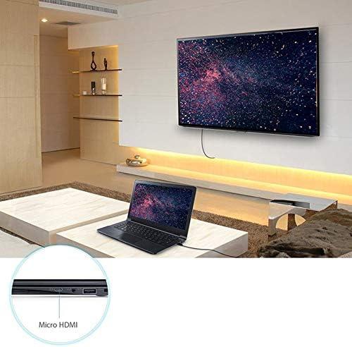 Ningbao951 1m 1080P Micro HDMI a HDMI Cable de Cable Adaptador para teléfono Tablet Cámara TV: Amazon.es: Hogar