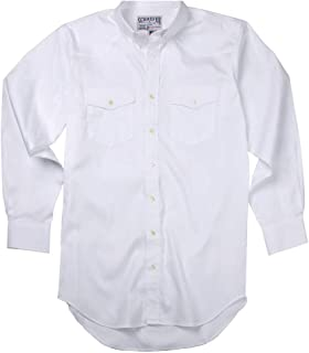 product image for Western Classic Button Down Pinpoint 7080-WH-06 Color - White Size - 17-1/2 X 34/35