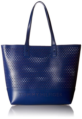 Tommy Hilfiger, Borsa a spalla donna blu Cobalt