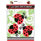 Ladybug Party Goodie Bags, 8ct