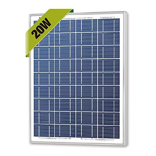 Newpowa 20w Watts 12v Poly Solar Panel...