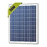Newpowa 20w Watts 12v Poly Solar Panel Module Rv Marine Boat Off Grid