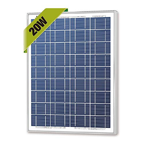 (Newpowa 20w Watts 12v Poly Solar Panel Module Rv Marine Boat Off Grid)