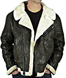 Men's Faux Suede Jacket with Sherpa Lining from Jordan Craig