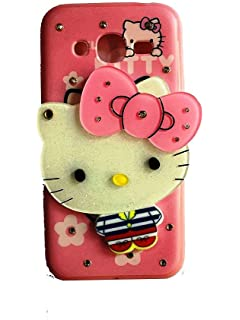 new style ba938 9b9f0 Trifty Girl's Back Cover Hello Kitty Silicon with: Amazon.in ...