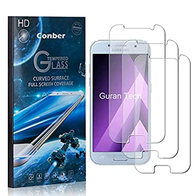 Conber (3 Pack) Screen Protector for Samsung Galaxy A3 2020, [Scratch-Resistant][Anti-Shatter][Case Friendly] Premium Tempered Glass Screen Protector for Samsung Galaxy A3 2020: Baby