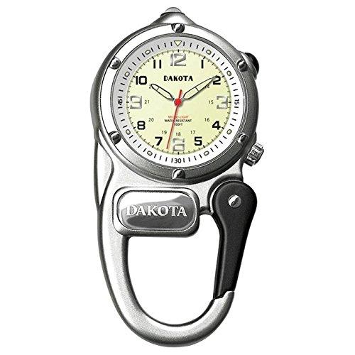 Dakota Mini Clip Watch Silver ()