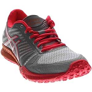 ASICS Women's FuzeX TR Cross-Trainer Shoe, White/Diva Pink/Mid Grey, 8 M US
