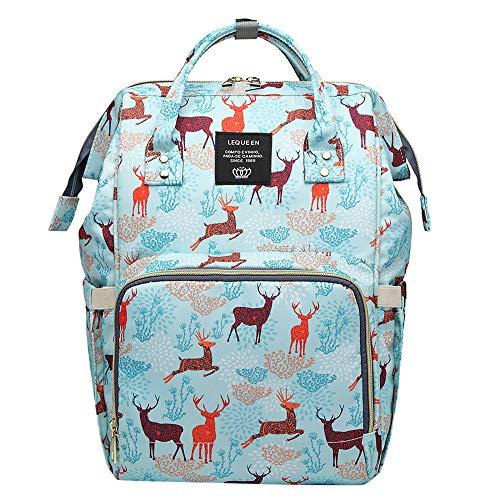 Cinsanong Womens Bags Sale! Large Capacity Mummy Nappy Bottle Bag Baby Nursing Fashion Travel Elegant Design Backpack
