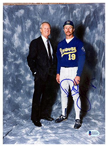 Robin Yount Autographed Signed 8x11 Photo Milwaukee Brewers - Beckett Authentic