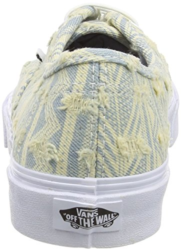 Vans Mens AuthenticTM Slim Frayed Native White 7 M wN0cw