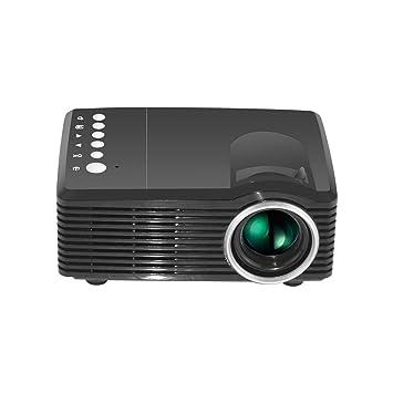 HBOY Proyector Mini HD Proyector Proyector LED portátil-Black ...