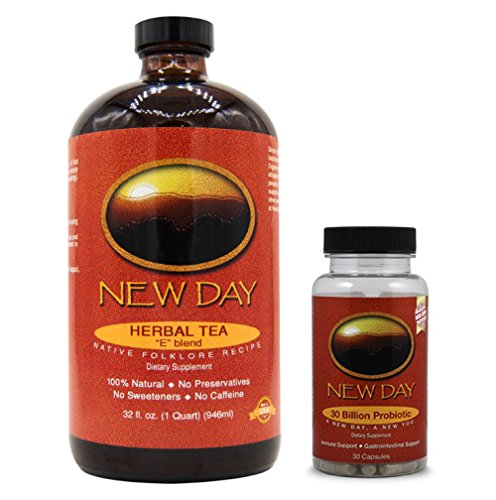 New Day E-Blend Concentrate Whole Body Detox with 30 Billion Probiotic Support COMBO PACK