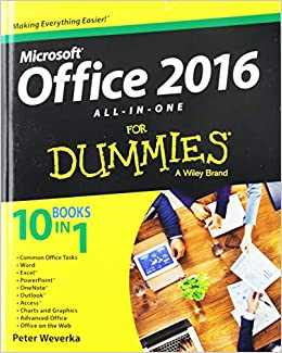 Office 2016 All-in-one For Dummies por Peter Weverka epub