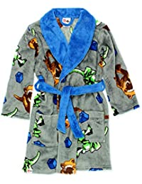 5bc5f7e2512 Jurassic World Dinosaur Boys Fleece Bathrobe Robe