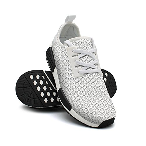 NAFG59Q Men's Athletic Running Shoes Fashion Sneakers Fitness Shoes Soft Sole Lightweight Breathable Panda Tile Casual Walking -