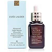Estee Lauder Advanced Night Repair Synchronized Recovery Complex II Removes Lines and Wrinkles to Feel Smoother, Hydrated, Stronger, and Skin Looks Younger, Radiant, 50ml