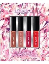 L'Oreal Paris Cosmetics Infallible Pro-Matte Lip Gloss...