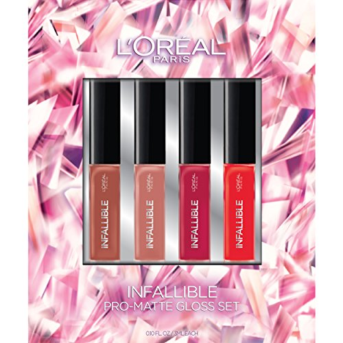 L'Oreal Paris Cosmetics Infallible Pro-Matte Lip Gloss Set