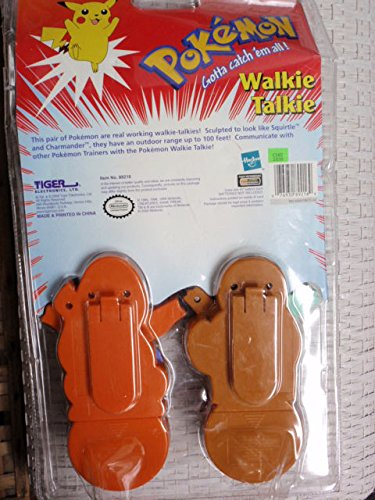 Pokemon Walkie Talkie Set: Squirtle and Charmander