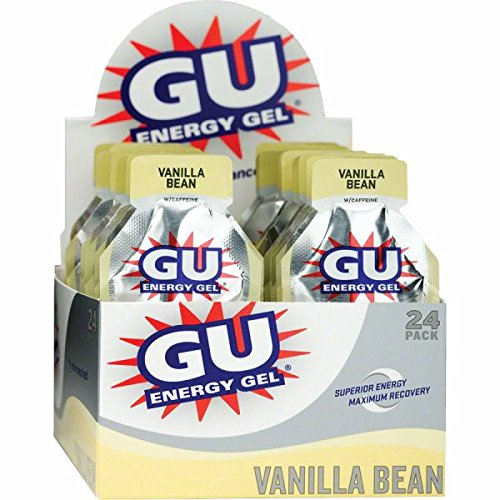 GU Energy Gel - 24 Pack - VANILLA BEAN
