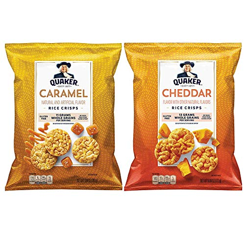 Quaker Rice Crisps, 6 Flavor Variety Pack