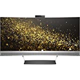 HP HP ENVY 34 Curved Display ENVY 34-inch Ultra WQHD Curved Monitor with AMD Freesync Technology, Webcam and Audio by Bang & Olufsen (Black/Silver)