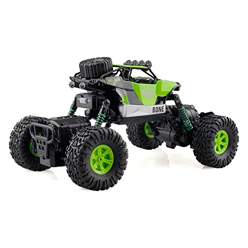 Gizmovine RC Rock Crawler Car 4WD 4 Modes Steering Waterproof 2.4Ghz Radio Control Toy Monster Truck Off Road (1/16 Scale)Green ZC0005-U2 Photo #5