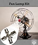 Fan Lamp Kit - Chrome Finsh