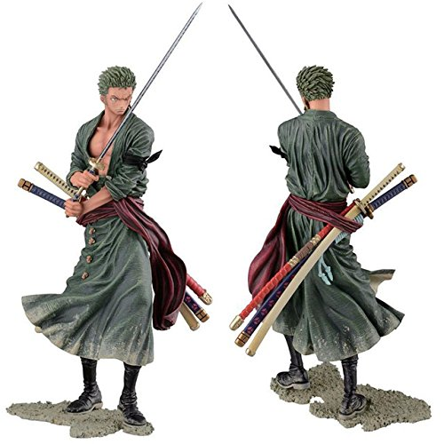 Anime Figurine Action Figure One Piece Roronoa Zoro PVC Doll Model Toy 20cm one-22
