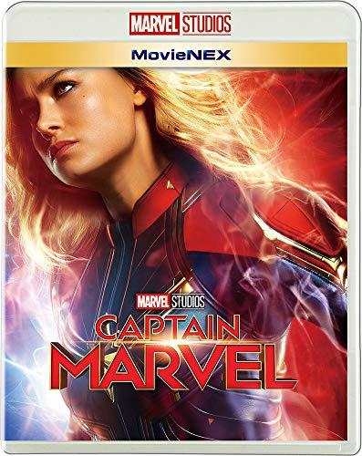 (2019年7月3日 발매예정 - 예약주문) 캡틴 마블 MovieNEX [블루 레이 + DVD + 디지털 복사 + MovieNEX 월드] [Blu-ray]