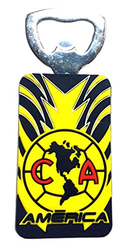 Official licensed Mexican Soccer Teams Bottle Opener(America).Package of Three Pieces.