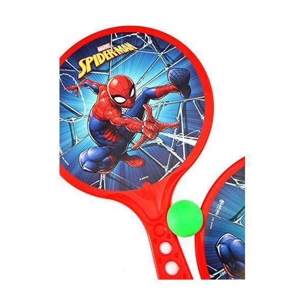 Racchettoni Spider-Man (cm 37x24) in plastica 6 spesavip