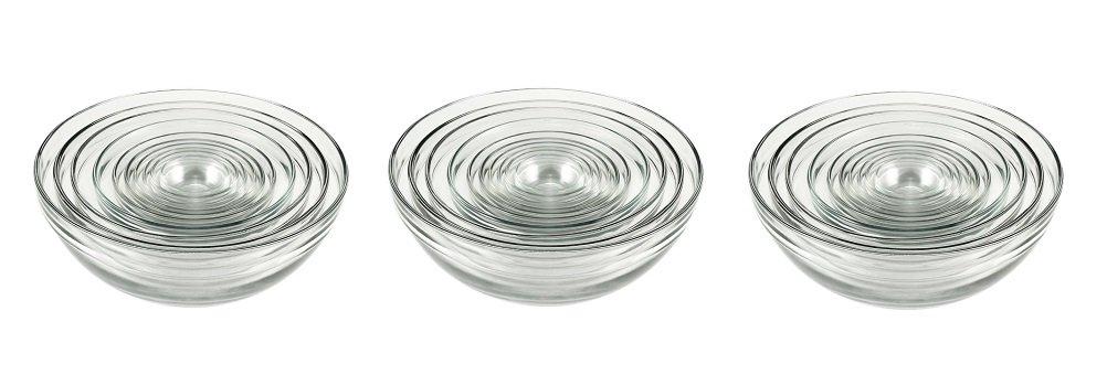 Anchor Hocking Glass Bowl Set - 10 pcs (3 Sets)