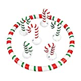 Inflatable Candy Cane Toss Game Holiday Party Game by ambush
