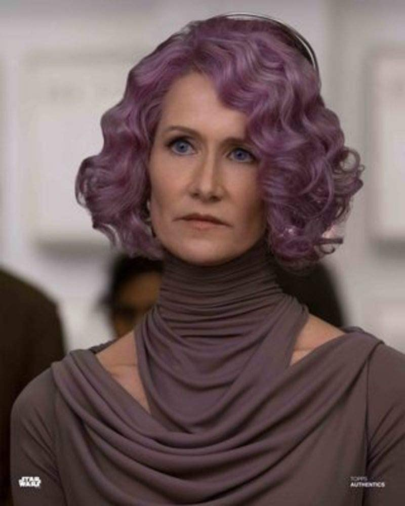 Star Wars Authentics: Laura Dern as Vice Admiral Holdo in 'Star Wars: The Last Jedi 8x10' Official Photo