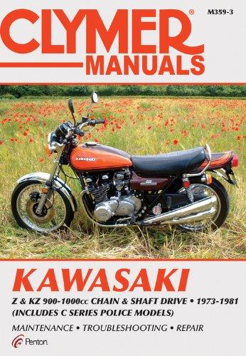 Kawasaki Z & KZ 900-1000cc Chain & Shaft Drive 1973-1981