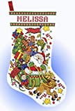Design Works Counted Cross Stitch Kit Santa Sleigh Stocking