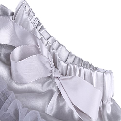 ballet adulte Rabbit tutu duveteux Jupon Tortoise Jupe Pettiskirt Costume dance Gris Partie Skirt femmes amp; qSpXwFZ