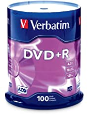 Verbatim AZO DVD+R 4.7GB 16X with Branded Surface - 100pk Spindle FFP