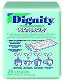 Units Per Pack 25 Dignity Naturals Pads Capacity 13 oz Pad 4'' x 12'' HUMANICARE INT'L INC. 26955 .