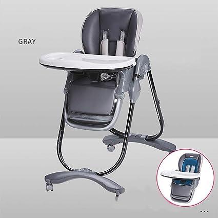WYQBBY Chaise haute, chaise de bébé à manger pliante chaise
