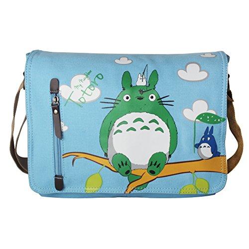 Innturt My Neighbor Totoro Cute Messenger Bag Shoulder Bag Satchel (Totoro - Blue)