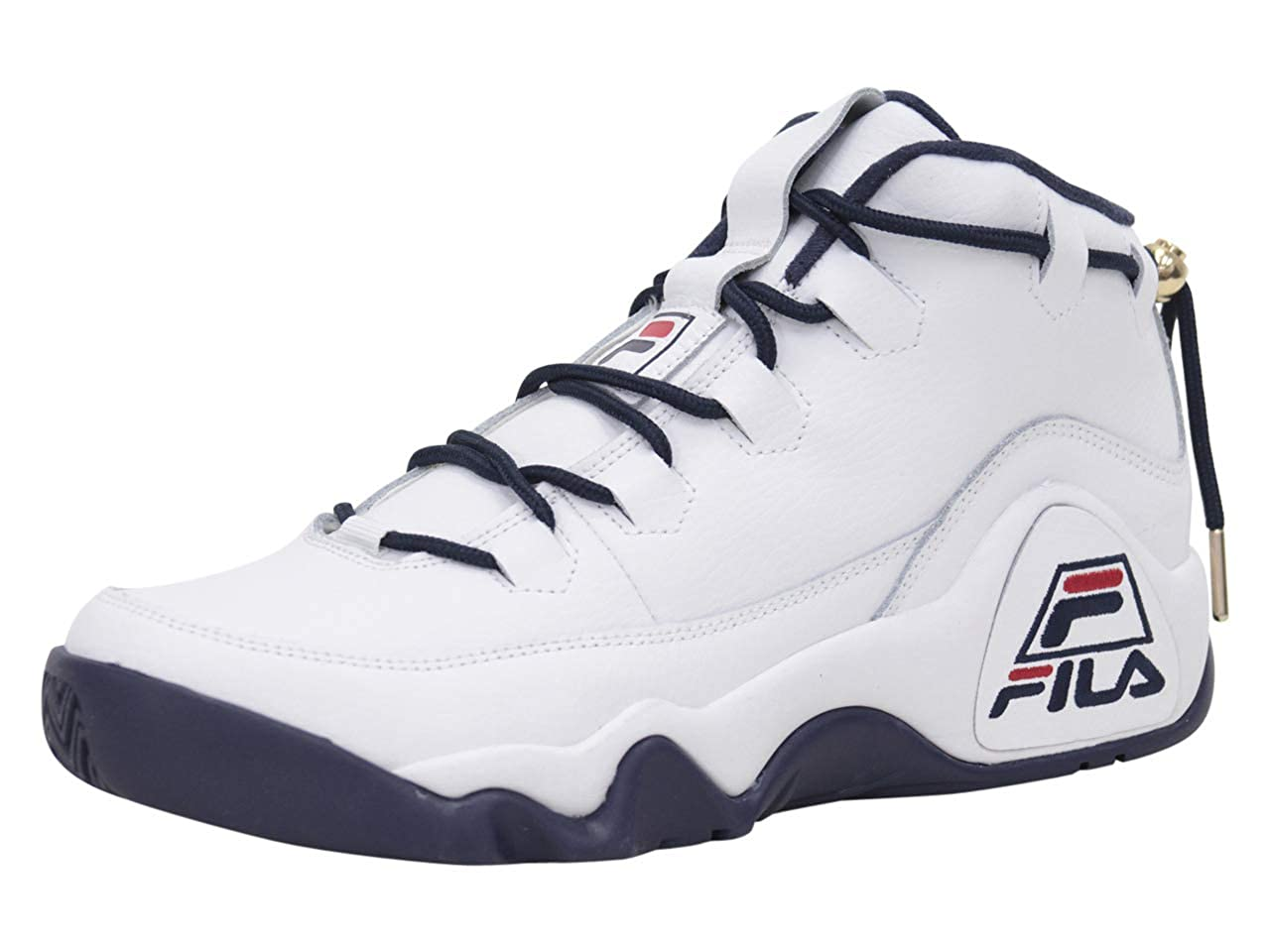 Amazon.com | Fila Men's 95-Primo White Navy Red Sneakers ...