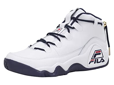 Amazon.com | Fila Men's 95-Primo White Navy Red Sneakers ...
