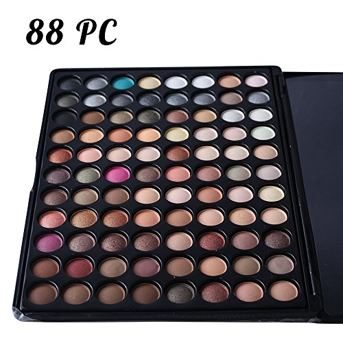 HER NAME Makeup Eyeshadow Palette Makeup - Eyeshadow 88 Shades Palette- Matte,(Highly makeup palette Natural Nude eyeshadow palette and Warm - Palette Control