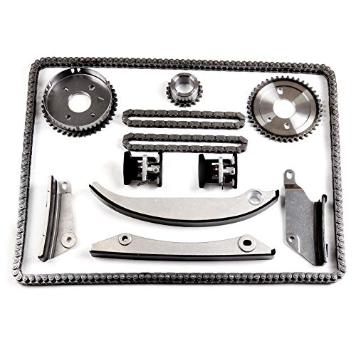 SCITOO TK140B Timing Chain Kits fits for with Tensioner fits for 2005 2006 Chrysler 300 2.7L 2700CC 167Cu.in.V6 Gas DOHC Naturally Aspirated ()