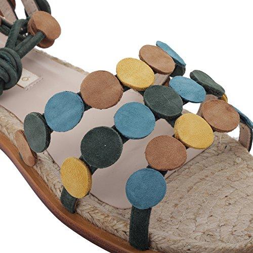 PALOMA BARCELÓ Sandalias de Vestir Para Mujer Multicolor Multicolor It - Marke Größe